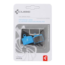 Pastillas de freno organicas Cube para Hayes Strocker Ryde